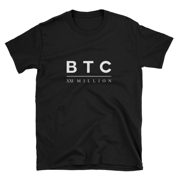 BTC XXI T-Shirt Black
