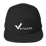 Vertcoin Baseball Hat Black