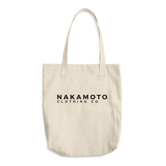 Nakamoto Clothing Co. Brand Tote Bag