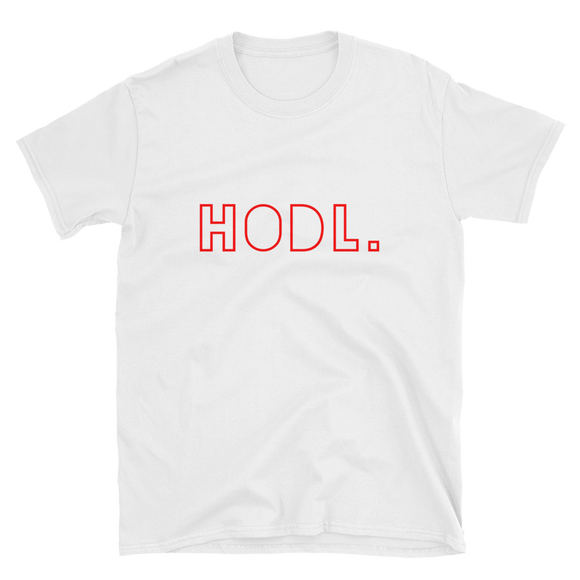 HODL T-Shirt - Nakamoto Clothing Co.