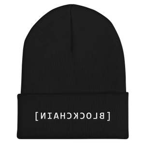 Blockchain Mirror Code Beanie - by Nakamoto Clothing Co.