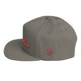 Bitcoin Hodl Hat Grey