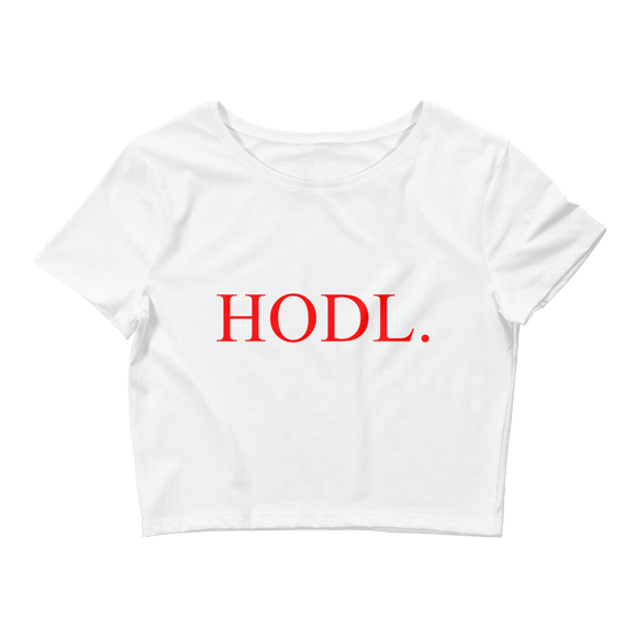 HODL Crop Top - Nakamoto Clothing Co.