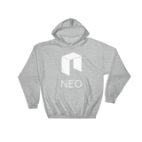 NEO Logo Hoodie Heather Grey