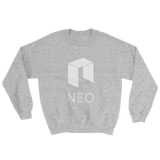 NEO Logo Sweater Grey with White