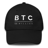 BTC XXI Classic Dad Cap in Black
