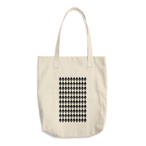 Ethereum Diamond Pattern Cotton Tote Bag