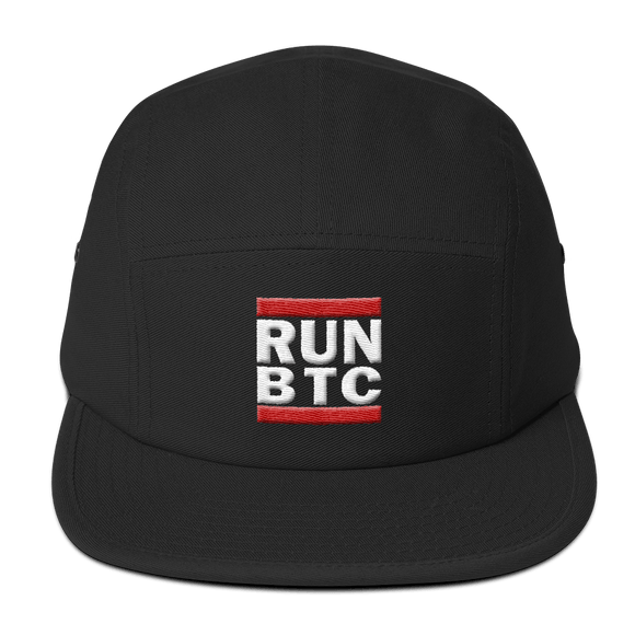 RUN BTC Bitcoin Hat