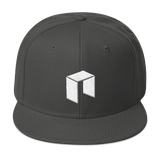NEO Snapback Baseball Hat Dark Grey