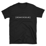 Blockchain Mirror Code T-Shirt - by Nakamoto Clothing Co.
