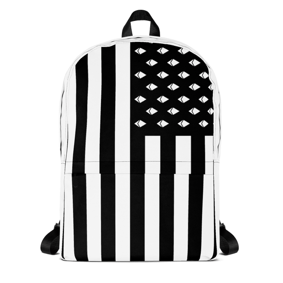 Ethereum American Flag Backpack - Nakamoto Clothing Co.