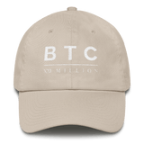 BTC XXI Classic Dad Cap in Cream