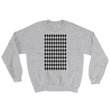 Ethereum Diamond Pattern Sweater Grey
