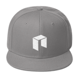 NEO Snapback Baseball Hat Grey