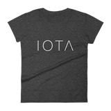 IOTA Womens Tshirt Dark Heather Grey