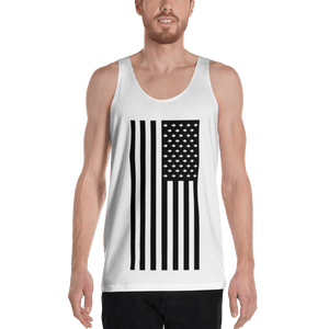 Ethereum American Flag Tank Top - Nakamoto Clothing Co.