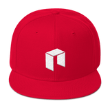 NEO Snapback Baseball Hat Red