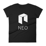 NEO Logo Ladies Tshirt Black