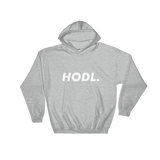 HODL Hoodie Heather Grey