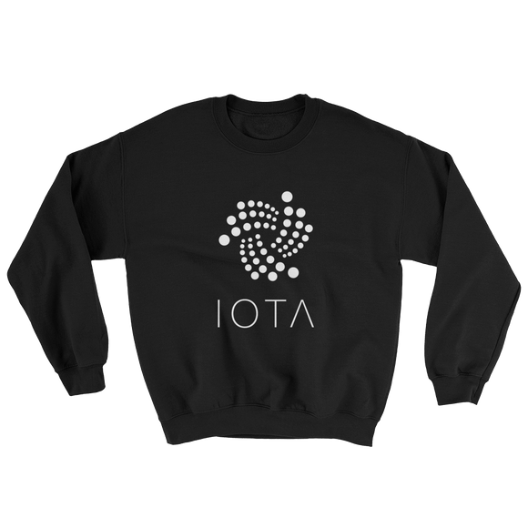 IOTA Tangle Sweater Black