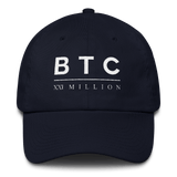 BTC XXI Classic Dad Cap in Navy