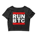 Bitcoin RUN BTC Crop Top