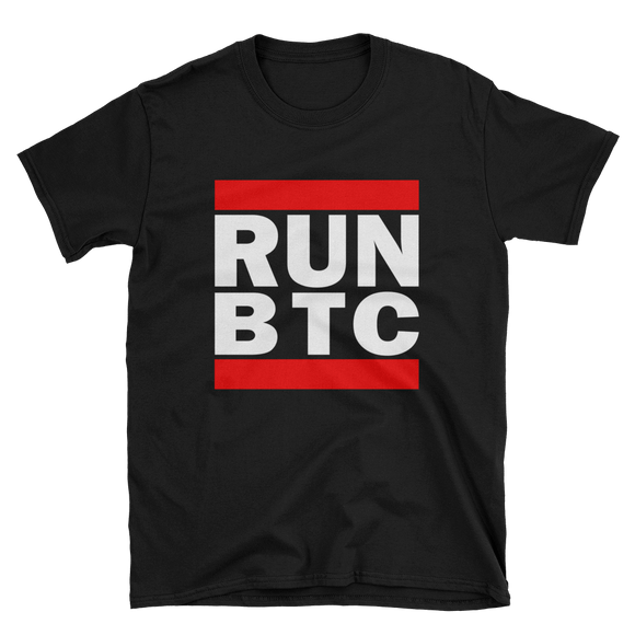 Bitcoin RUN BTC T-Shirt
