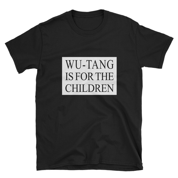 wu-tang is for the children, wu-tang t-shirt, wu-tang clothing