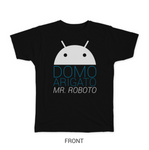 Domo Arigato Mr. Robot T-shirt by Taylor Ling Front Design