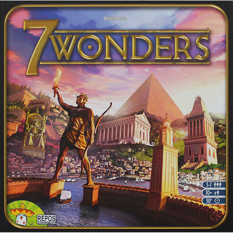7 Wonders Board Game cover
