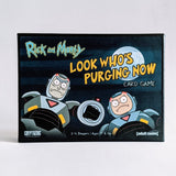 Rick & Morty: Look Who's Purging Now Card Game (Pre-Owned)