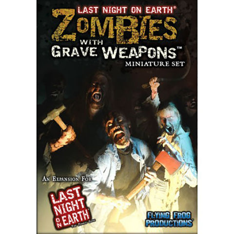 Last Night on Earth: Zombies, Graves, Weapons Miniature Set