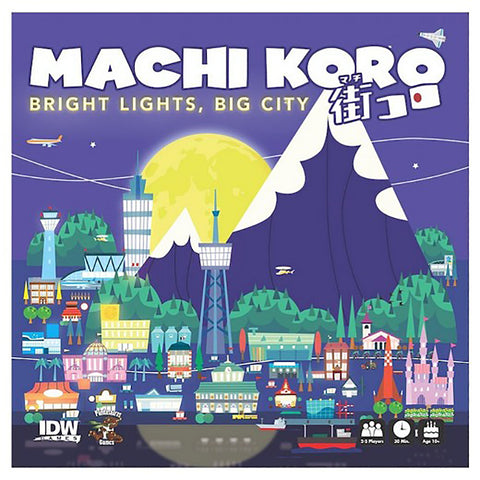 Machi Koro: Bright Lights Big City Expansion