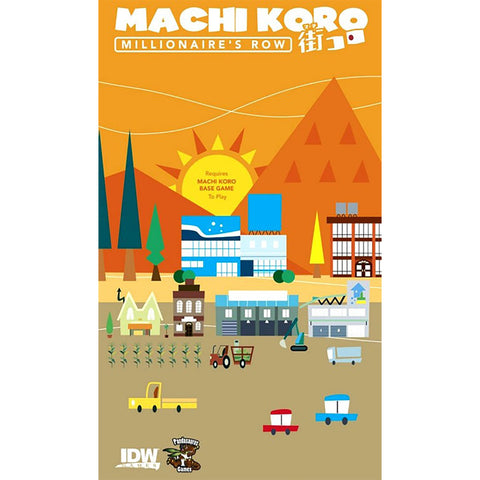 Machi Koro: Millionares Row Expansion