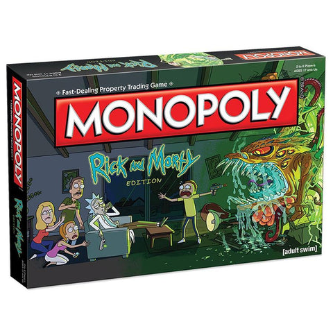Monopoly: Rick & Morty