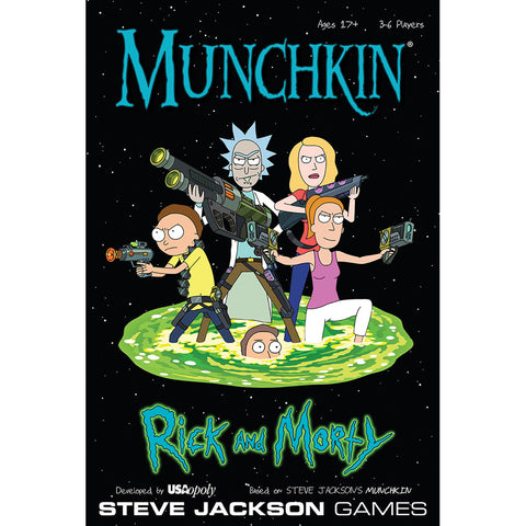 Munchkin: Rick and Morty Edition