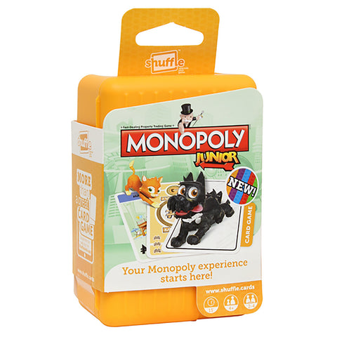 Shuffle Monopoly Junior Card Game