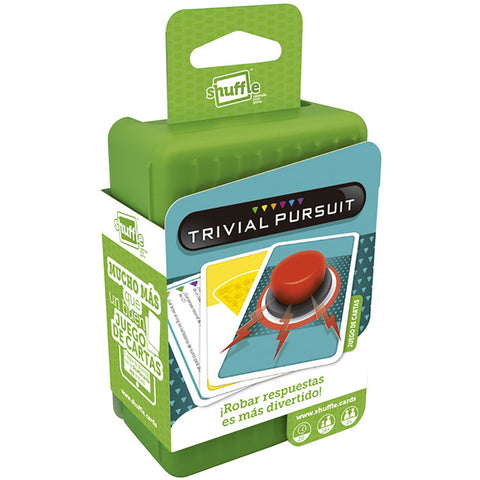 Shuffle Trivial Pursuit Card Game