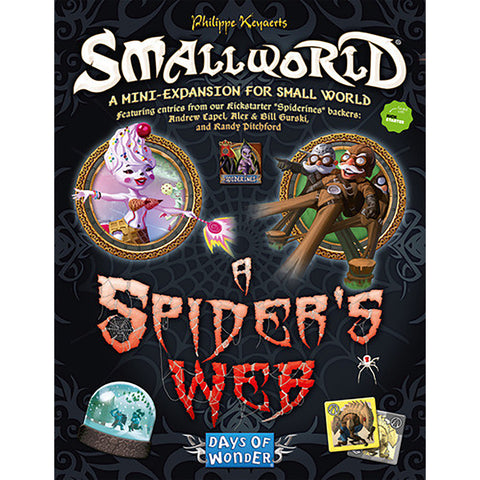 Small World: A Spiders Web Expansion
