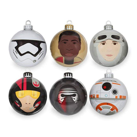 Star Wars Christmas Baubles: Force Awakens