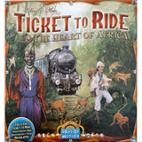 Ticket to Ride: Heart of Africa Map Expansion