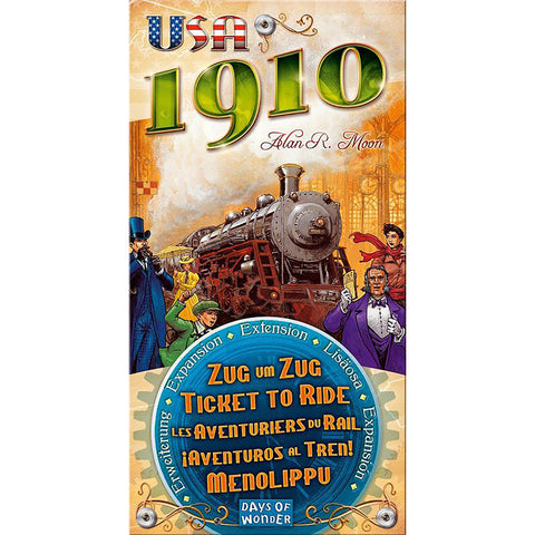 Ticket to Ride: USA 1910 Expansion