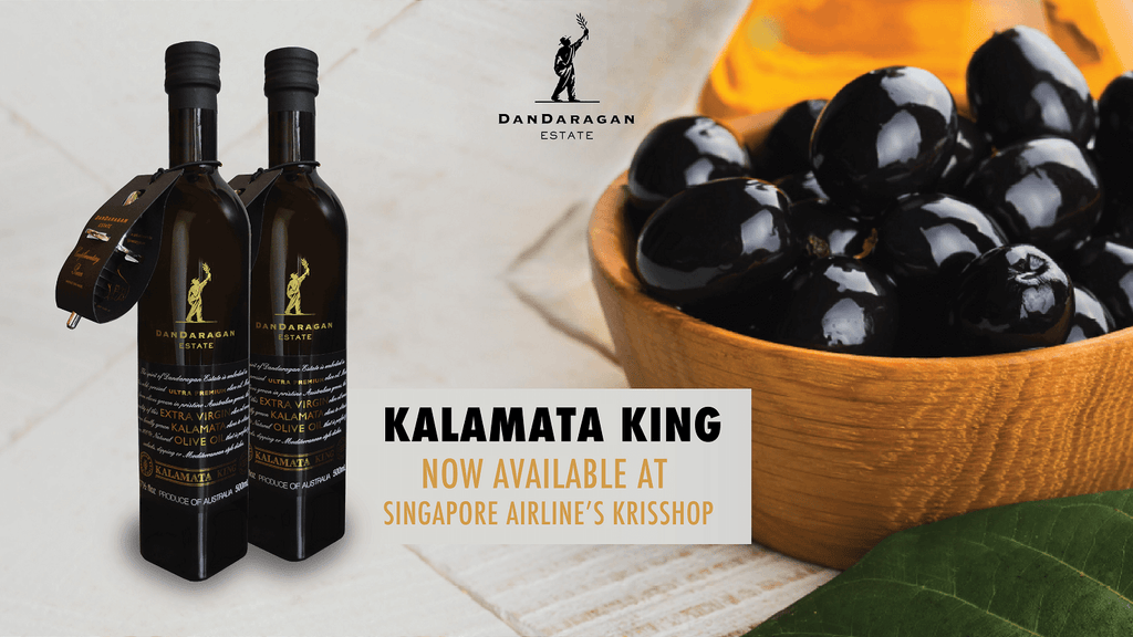 Kalamata King Now Available at Singapore Airline's Krisshop