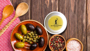 Dandaragan Estate Ultra Premium Extra Virgin Olive Oil EVOO Tasting Dipping Dish Snack