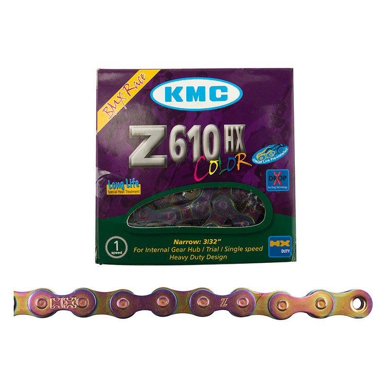 KMC Z610HX Single Speed Chain with packaging