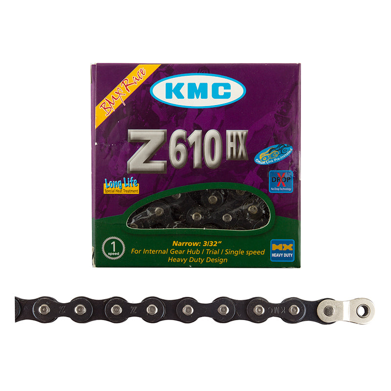 KMC Z610HX Single Speed Chain, 3/32""