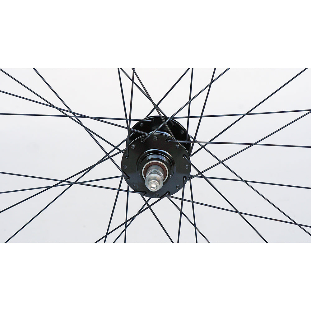 Phil Wood / H+ Son Archetype 700c Wheelset, Black