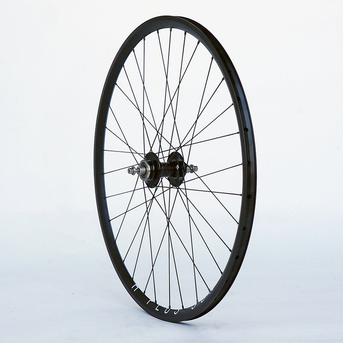 Phil Wood / H+ Son Archetype 700c Wheelset, FX/FW, Black