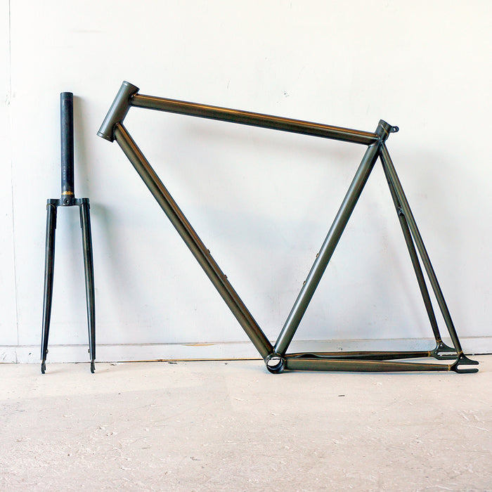 Wabi Classic Frameset, 52cm, Raw Clear Coat AS-IS