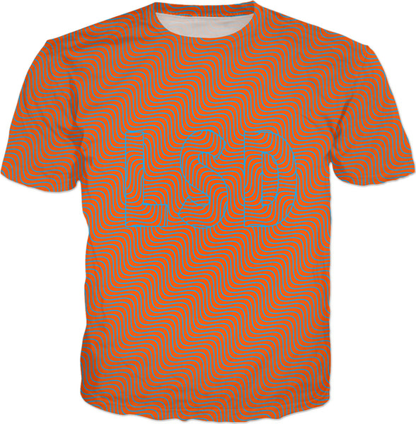 Red Optical Illusion LSD - T-Shirt